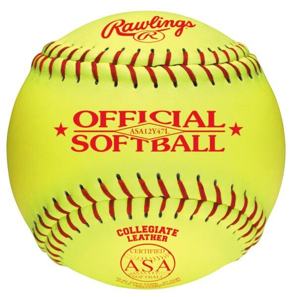 """Rawlings 12"""" ASA Fast Pitch Softball"""