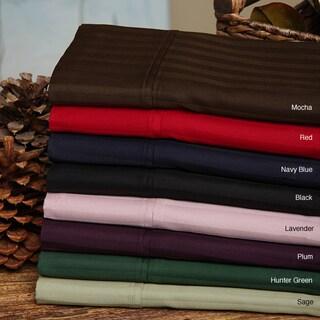 Superior 300 Thread Count Split King Deep Pocket Cotton Sateen Sheet Set (Option: MOCHA)
