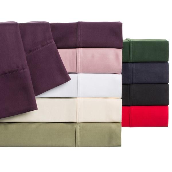Superior 100-percent Premium Long-staple Combed Cotton Sateen 300 Thread Count Split King Sheet Set