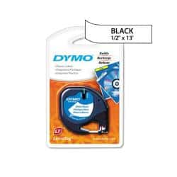 Dymo LetraTag White Plastic 0.5-in Label Tape Cassette|https://ak1.ostkcdn.com/images/products/5870776/74/960/Dymo-LetraTag-White-Plastic-0.5-in-Label-Tape-Cassette-P13580532.jpg?impolicy=medium