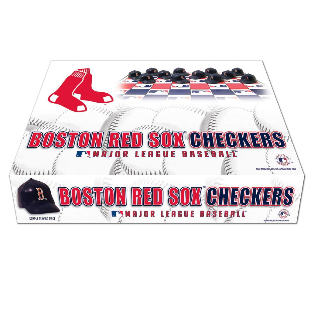 Rico Boston Red Sox Checker Set