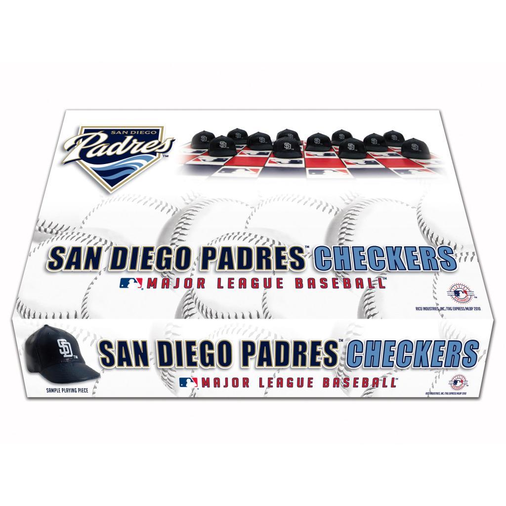 Rico San Diego Padres Checker Set