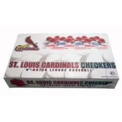 Rico St. Louis Cardinals Checker Set - Thumbnail 1