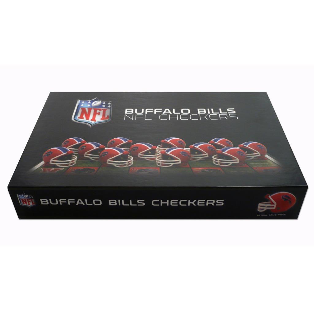 Rico Buffalo Bills Checker Set