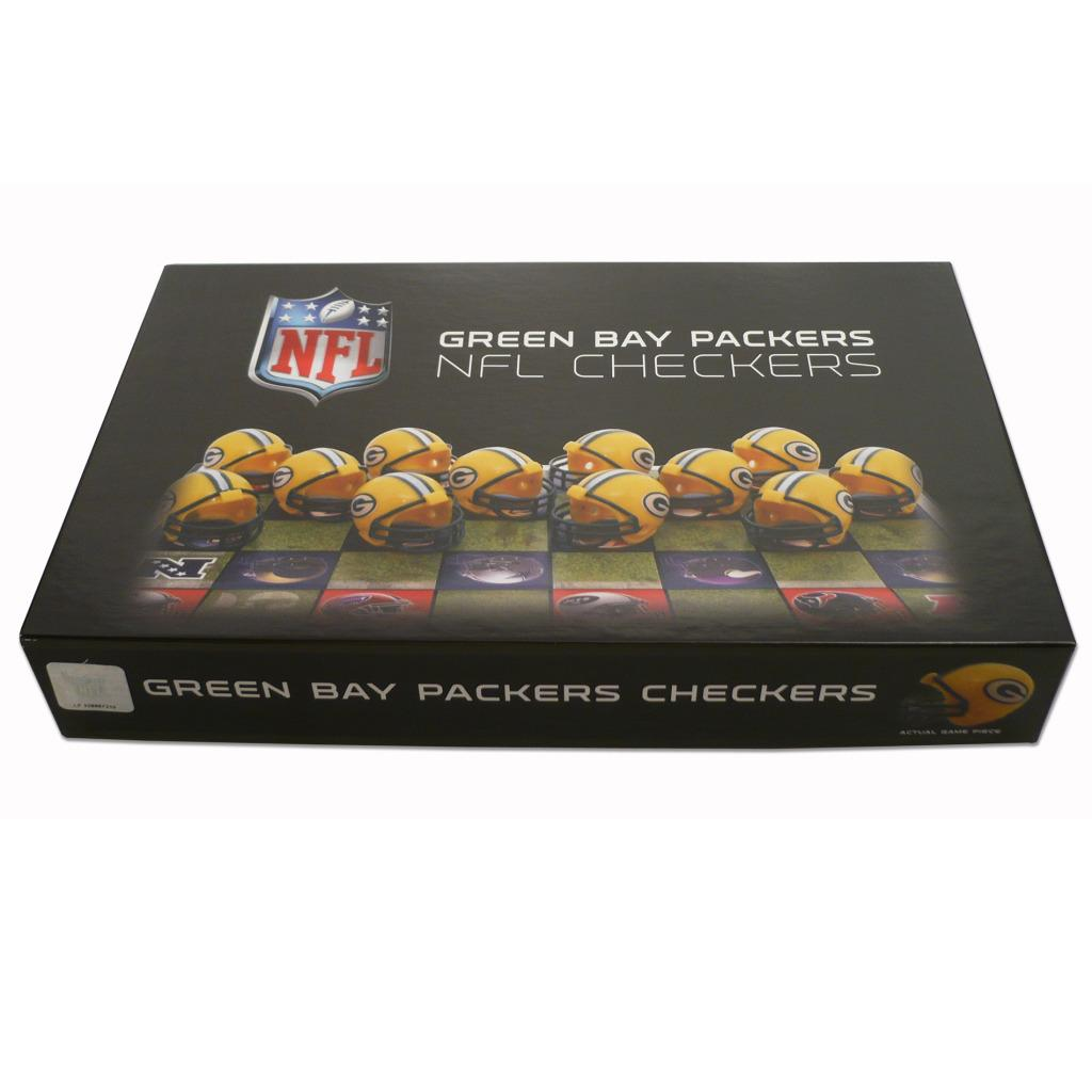 Rico Green Bay Packers Checker Set