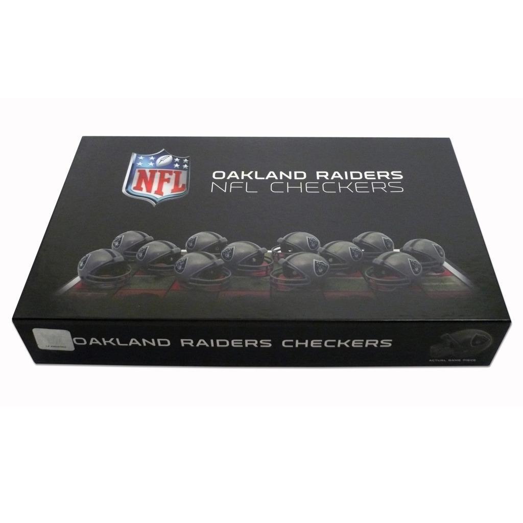 Rico Oakland Raiders Checker Set