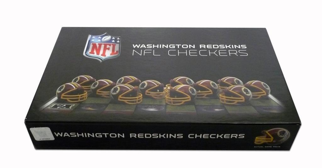 Rico Washington Redskins Checker Set