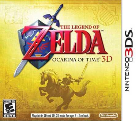 NinDS 3DS - The Legend of Zelda: Ocarina of Time 3D