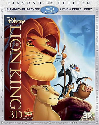 The Lion King 3D (Diamond Edition) (Blu-ray/DVD)