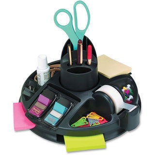 Black Post-it Rotary Self-Stick Notes Dispenser-