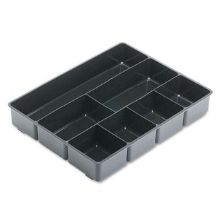 Rubbermaid Black Plastic Extra Deep Desk Drawer Director Tray