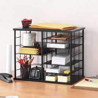 Rubbermaid 12-slot Black Organizer