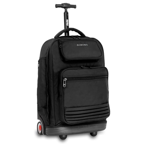 J World 'Parkway' 20-inch Rolling Laptop Backpack - Free Shipping ...