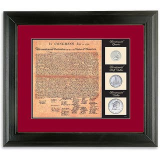 American Coin Treasures U.S. Declaration of Independence Facsimile and Bicentennial Coins|https://ak1.ostkcdn.com/images/products/5875823/P13584883.jpg?impolicy=medium