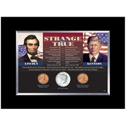 American Coin Treasures Strange But True Framed Coins - Thumbnail 0