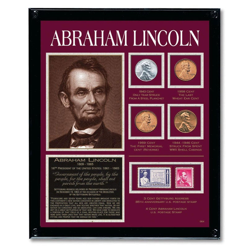 American Coin Treasures Lincoln Framed Tribute Collection - Thumbnail 0