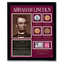 American Coin Treasures Lincoln Framed Tribute Collection