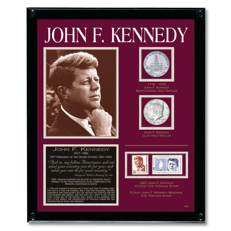 American Coin Treasures Kennedy Framed Tribute Collection