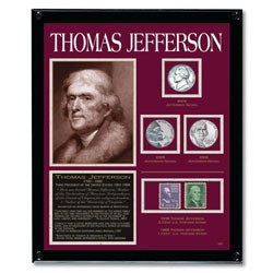 American Coin Treasures Jefferson Framed Tribute Collection