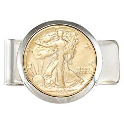 American Coin Treasures Silver Walking Liberty Half Dollar Money Clip|https://ak1.ostkcdn.com/images/products/5875858/American-Coin-Treasures-Silver-Walking-Liberty-Half-Dollar-Money-Clip-P13584920a.jpg?impolicy=medium