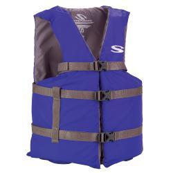 Coleman Adult Classic Series Oversize Blue Life Vest