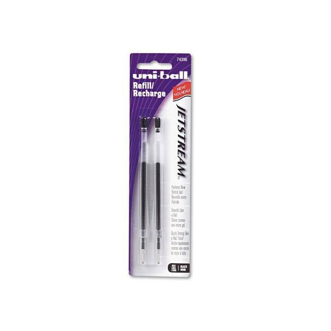 Sanford Uni-Ball Black JetStream Ballpoint Pen Refills (Pack of 2)