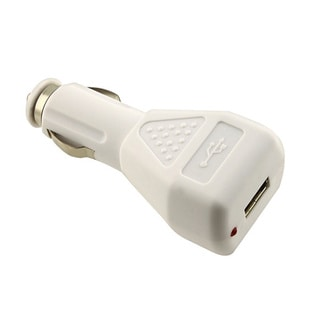 INSTEN PVC Universal 12-24V USB Car Charger Adapter for Apple iPhone 4S/ 5S/ 6