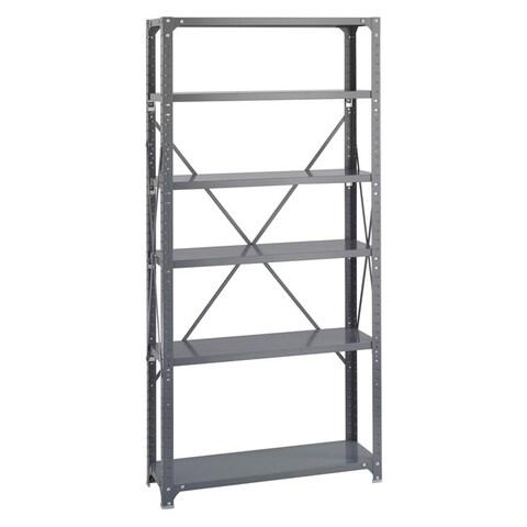 Safco 6-shelf 36-inch Wide x 12-inch Deep x 72-inch High Commercial Shelf Kit