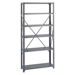 Safco 6-shelf 36-inch Wide x 12-inch Deep x 72-inch High Commercial Shelf Kit