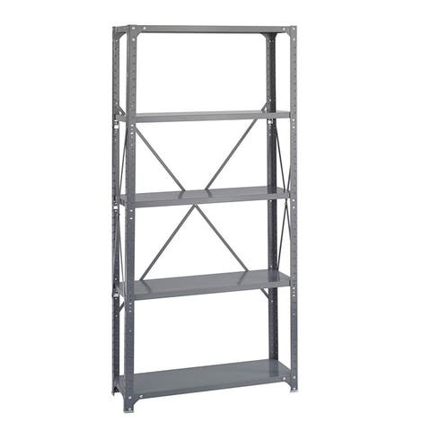 Safco 5-shelf 36-inch Wide x 12-inch Deep x 72-inch High Commercial Shelf Kit