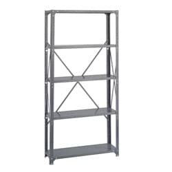 Safco 5-shelf 36-inch Wide x 12-inch Deep x 72-inch High Commercial Shelf Kit