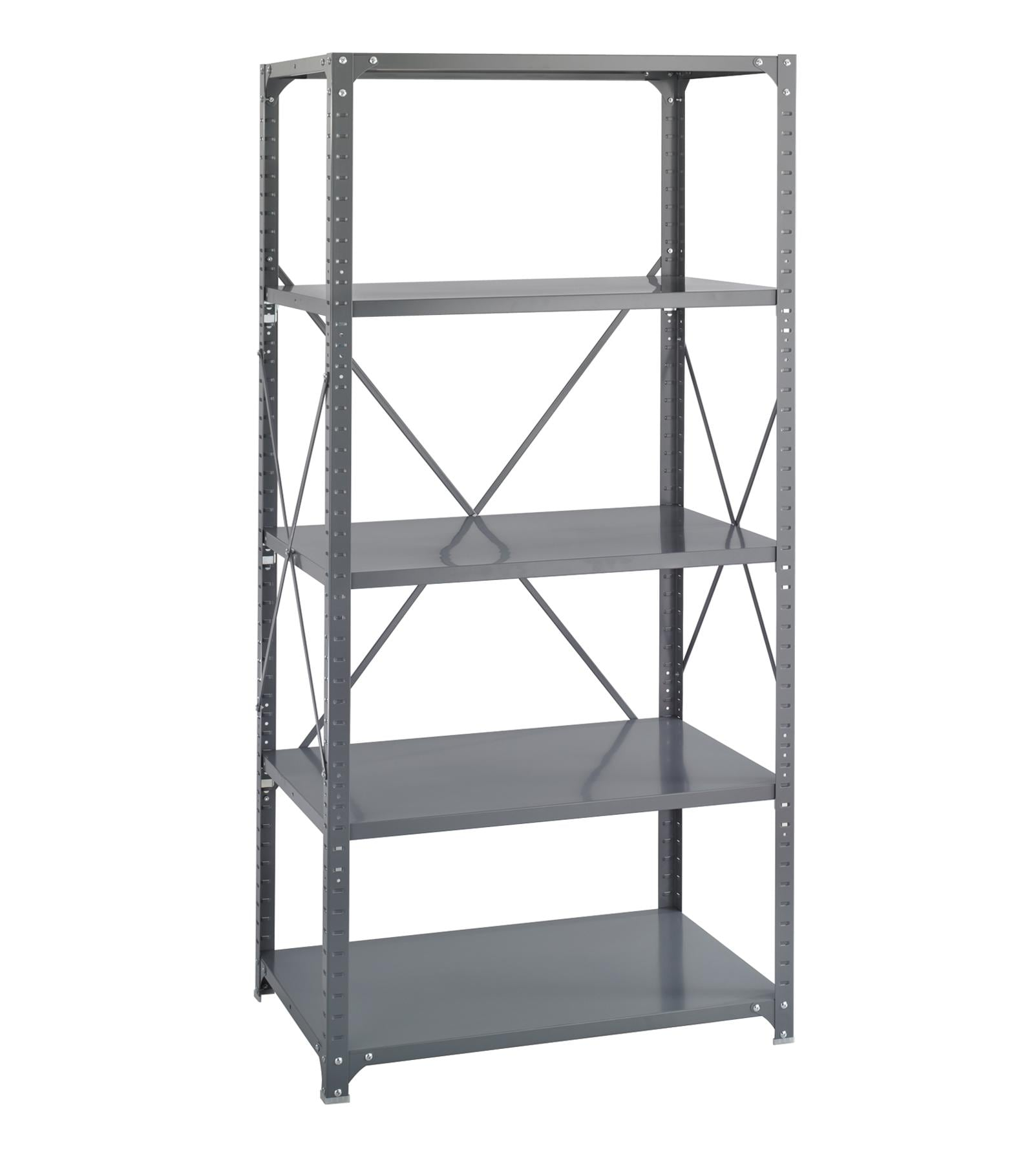 Safco 5-shelf 36-inch Wide x 24-inch Deep x 72-inch High Commercial Shelf Kit