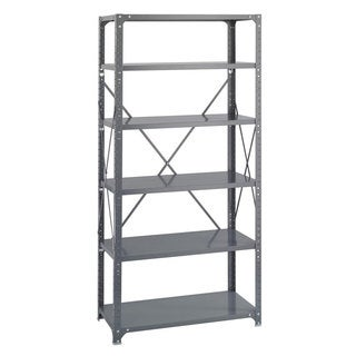 Safco 6-shelf 36-inch Wide x 18-inch Deep x 72-inch High Commercial Shelf Kit