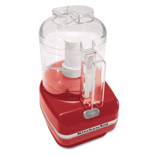 KitchenAid RKFC3100ER Empire Red 3-cup Chefs Chopper (Refurbished)