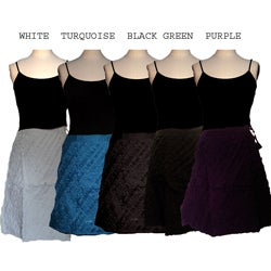 Women's Cotton Distressed Skirt (Nepal)