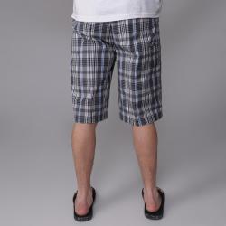 Charcoal Gioberti by Boston Traveler Men's Plaid Shorts - Thumbnail 1