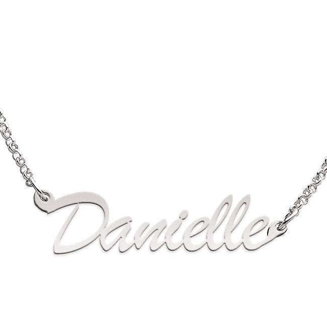 Limoges Sterling Silver 'Danielle' Necklace