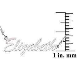 Limoges Sterling Silver 'Elizabeth' Necklace