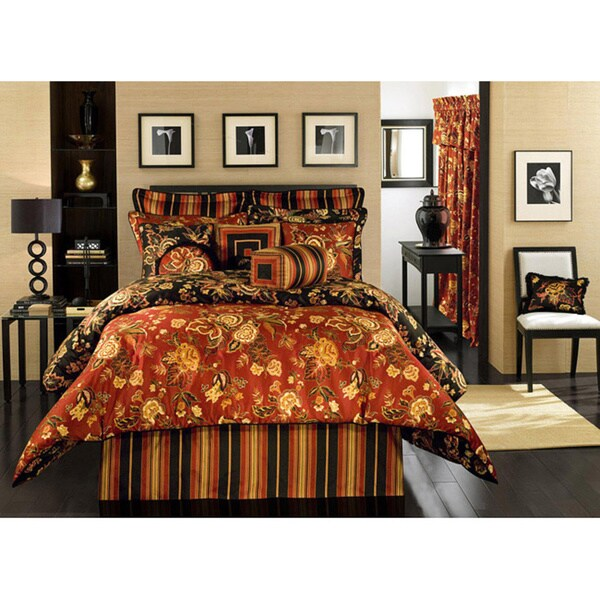 Carlton Queen-size 4-piece Comforter Set
