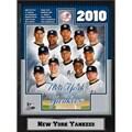 New York Yankees 2010 Team 9x12 Photo Plaque