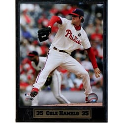Philadelphia Phillies Cole Hamels 9x12 Photo Plaque