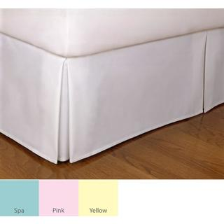 Tailored Poplin 14-inch Drop Bedskirt