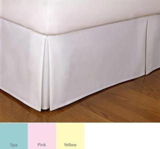 Tailored Poplin 14-inch Drop Bedskirt