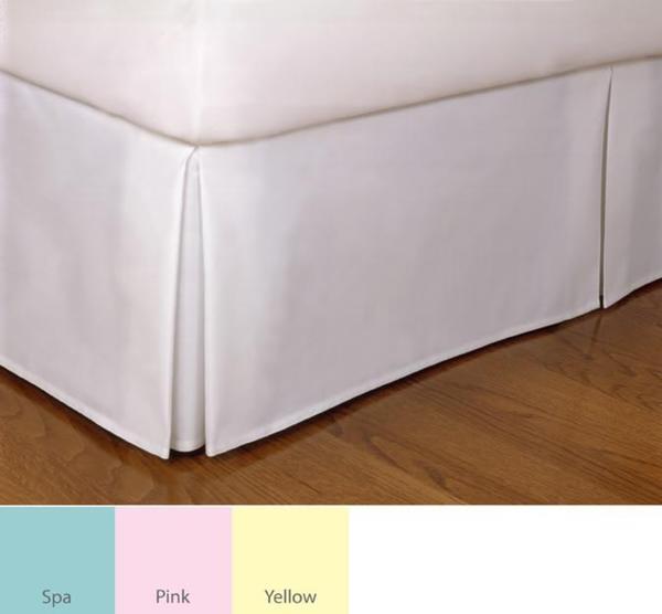 Tailored Poplin 14-inch Drop Bedskirt. Opens flyout.