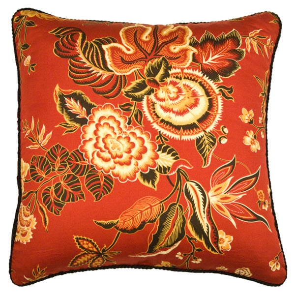 Rose Tree Decorative Pillows : Rose Tree Carlton Square Decorative Pillow - Free Shipping On Orders Over $45 - Overstock.com ...