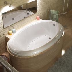 Petite White 60x36-inch Air Tub