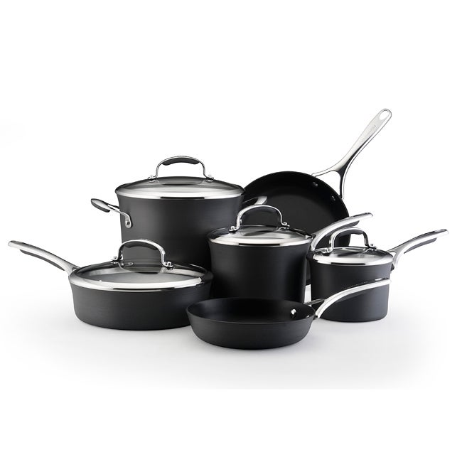 KitchenAid Gourmet Hard Anodized 10-pc Nonstick Cookware Set - Thumbnail 0