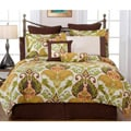 Hannah Full-size 12-piece Bed in a Bag with Sheet Set