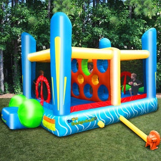 KidWise Jump'n Dodgeball Inflatable Bounce House