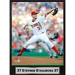 Washington Nationals Stephen Strasburg 9x12-inch Plaque|https://ak1.ostkcdn.com/images/products/5880213/Washington-Nationals-Stephen-Strasburg-9x12-inch-Plaque-P13588374.jpg?impolicy=medium